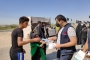 ‏DARY Organization awareness and sanitize against Corona and distributes prevention supplies to holy Karbala visitor's.