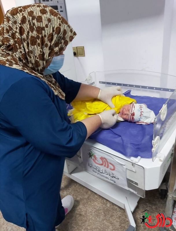 "DARY organization operates ""Al-Karma Delivery Room"" and operates ""Al-Saqlawiyah"" reproductive health clinic in Anbar with funding from (UNFPA)"