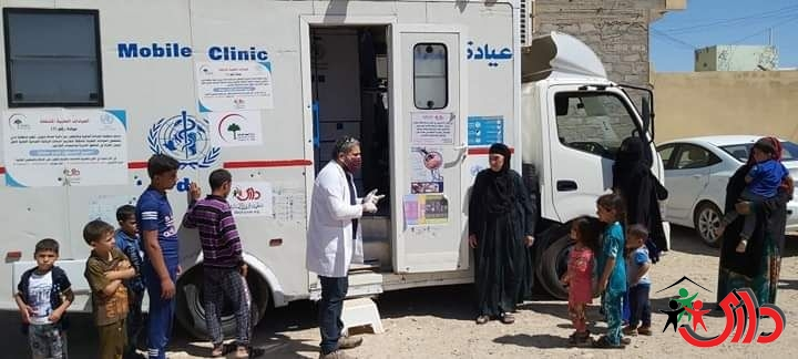 DARY received ( 98967 ) citizens during JUNE 2020, and provided all health services to them