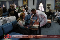 DARY Humanitarian organization implemented a new round of medical treatment for displaced people in Baghdad