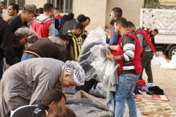 DARY Organization with risks for relief of displaced people in ALMUQDADIYAH danger and unsecured