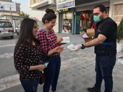 Continuing campaigns against the coronavirus in baghdad